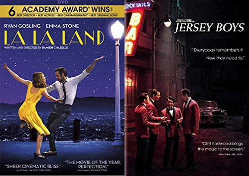(Marvelous Modern Musical Classics 2-DVD Bundle - Jersey Boys & LA LA Land (Musical Collection 2 DVD Collection))