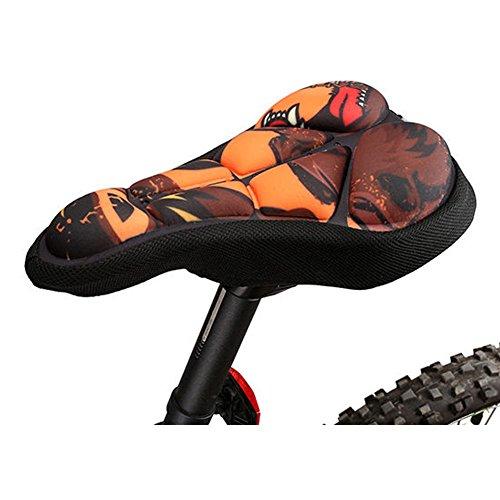 ArcEnCiel (TM) Extra Comfort Soft Gel Bike Seat Cushion Cover