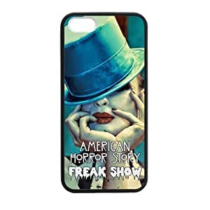 American Horror Story:Freakshow Cell Phone Hard Case for iPhone 5S Plastic & TPU (Laser Technology)