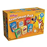 Kellogg's Breakfast Cereal Assortment Pack (Single-Serve Boxes, 30-Count)