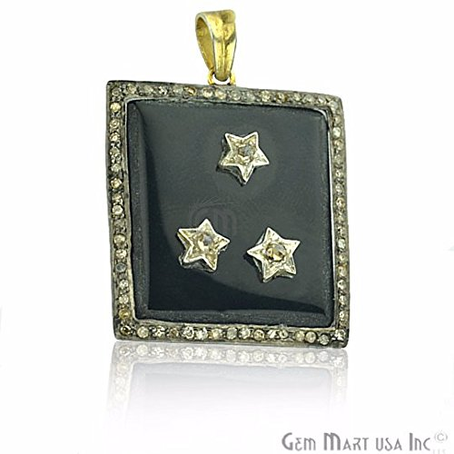 Select Your Victorian Estate Jewelry Diamond Necklace Pendant Exclusively by GemMartUSA (DR-12077)