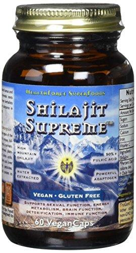 Healthforce Shilajit Supreme Vegan Capsules product image