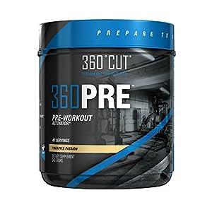 360CUT 360Pre Workout Activator, 640 Gram