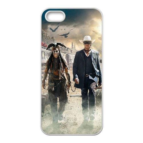 The Lone Ranger 2 coque iPhone 4 4S cellulaire cas coque de téléphone cas blanche couverture de téléphone portable EOKXLLNCD20173
