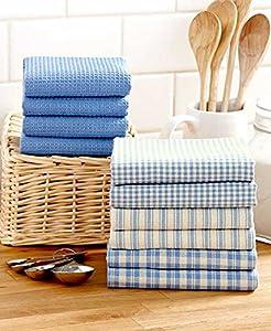 10-Pc. Homespun Kitchen Towel Set