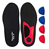 Adjustable Arch Insoles for High, Neutral or Fallen Arches for kids or women