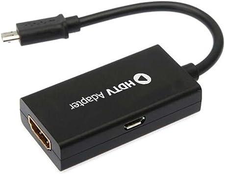 OcioDual Cable Adaptador Conversor Convertidor MHL Micro USB ...
