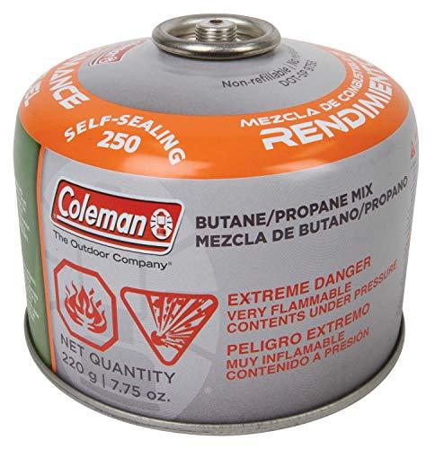 - Coleman Butane / Propane Mix Fuel (Mix Fuel 7.75 oz.) - 7.75 oz.