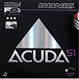 Donic Rubber Acuda S1, 2.00 mm red and black