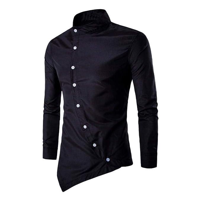 Amazon.com: WM & MW - Blusa para hombre, estilo casual ...