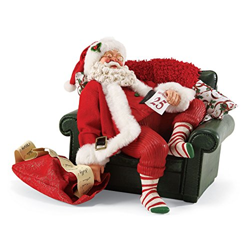 Department 56 Possible Dreams December 25th Santa, 6.5 inch Possible Dreams Sleigh