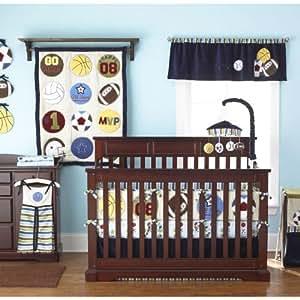 Amazon Com Too Good By Jenny Play Ball 9 Piece Crib Set