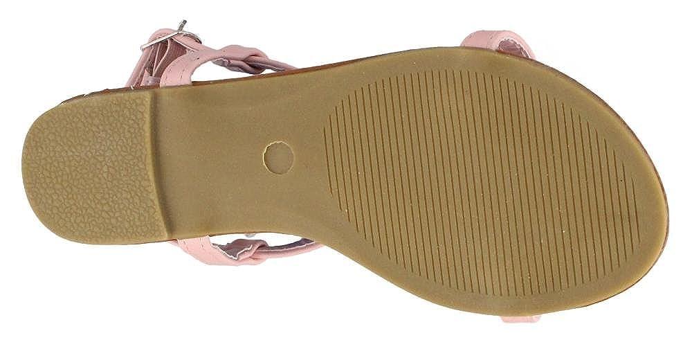 KG1257 Fun Furry Sandals Josmo Girls