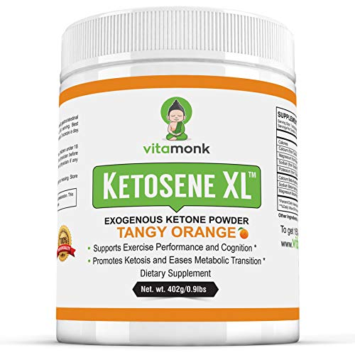 Ketosene XLTM 30 Servings Extra Large Exogenous Ketones Powder - Kickstart Ketosis Within 1-Hour with a Pure Blend of Calcium and Magnesium Ketone BHB Salts (KetoVantage BHB) - for Keto Diet Bulk