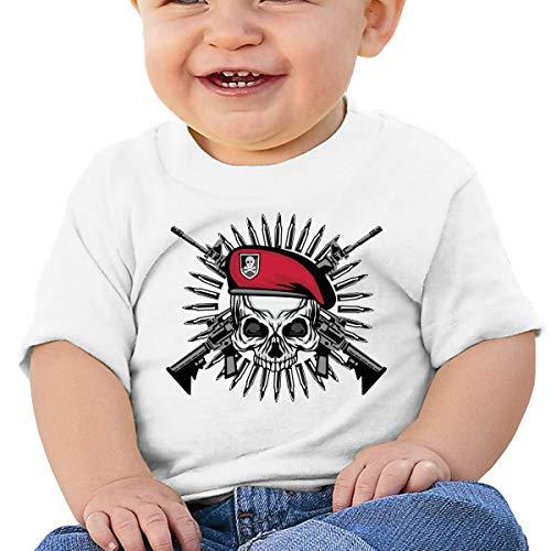 Price comparison product image Pirate Gun Crossbow Skull Baby Girls Cotton Shirt