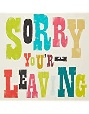 The Art File ARTIPL03 Sorry You're Leaving Greeting Card