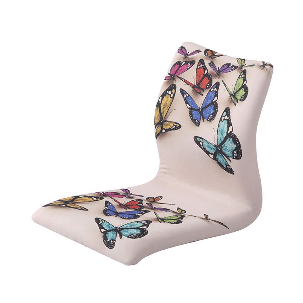 YWTY Legless Stuhl, japanische Art Adult Legless Stuhl, geeignet für Das Trinken von Tee Spiel Lesen und Fernsehen