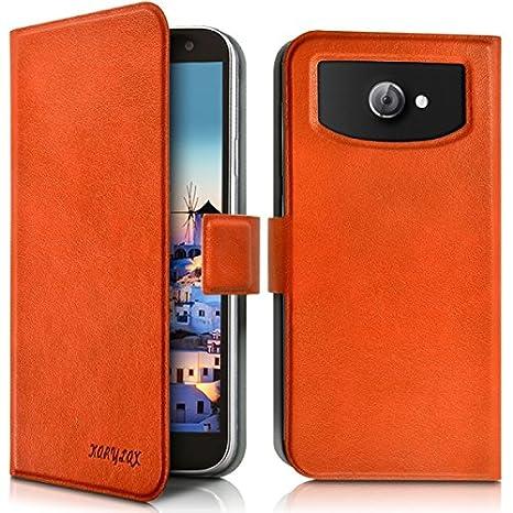 Seluxion - Carcasa universal L color naranja para Acer ...