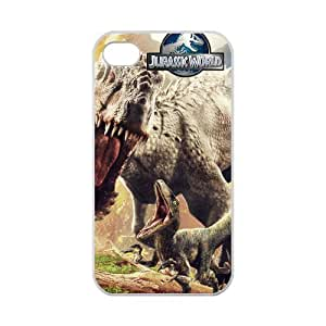 Zyhome iPhone 4,4S Distinctive Jurassic Park Dinosaur Case for iPhone 4,4S 100% (Laser Technology)