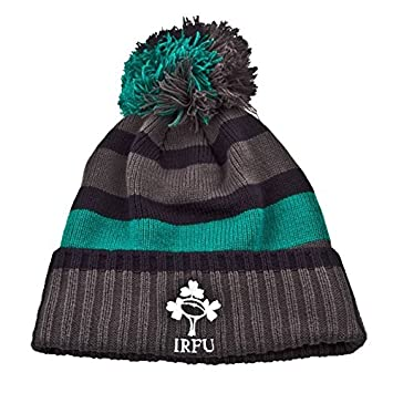 99f4c182 Puma Ireland Rugby Bobble Hat - Grey/Navy/Green: Amazon.co.uk: Sports &  Outdoors