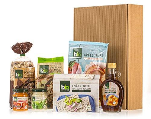 bioZentrale Guten-Morgen-Geschenkbox mit 7 Bio-Produkten
