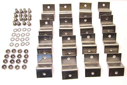 Solar Panel Z Bracket Mounting Kit (4 kits) USA by khonanpai