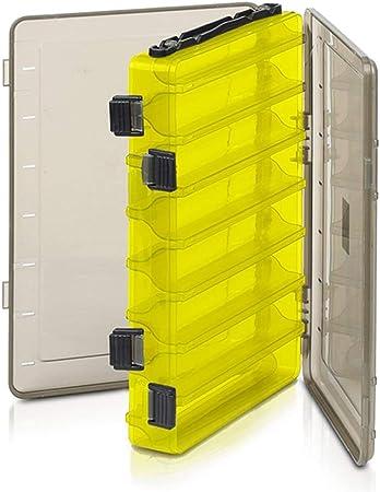 lizeyuLa Caja de Pesca es una Caja de Tratamiento de plástico de Doble Cara señuelo.: Amazon.es: Hogar