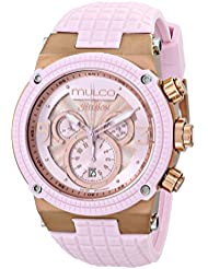 MULCO Unisex MW3-12140-813 Ilusion Analog Display Swiss Quartz Pink Watch