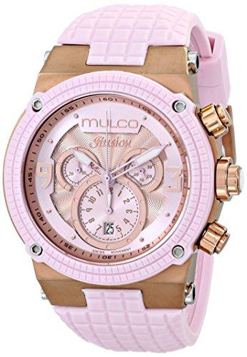 MULCO Unisex MW3-12140-813 Ilusion Analog Display Swiss Quartz Pink Watch ()