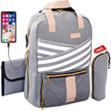 Baby Diaper Bag Backpack Large Cute Stylish Travel Maternity...