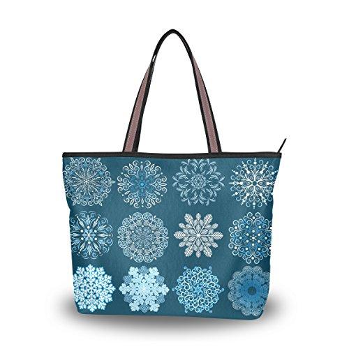 ablink-vivid-snowflake-pattern-handbag-large-capacity-bag-shoulder-bag