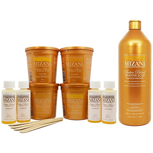 mizani-butter-blend-relaxer-kit-and-sensitive-scalp-balance-hair-bath-set