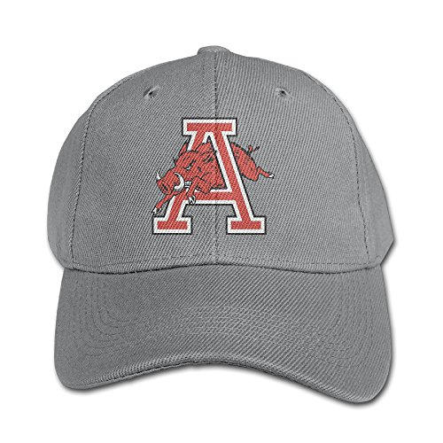 Arkansas Razorbacks Santa Hat (ACMIRAN University Of Arkansas Razorbacks Adjustable Trucker Hat One Size)