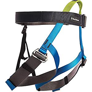 Black Diamond Vario Speed Climbing Harness - Kingfisher
