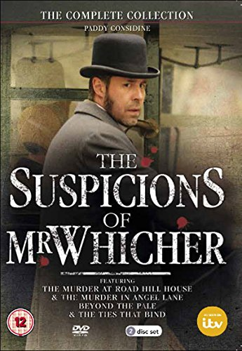 DVD : The Suspicions of Mr Whicher - 4-DVD Set ( The Suspicions of Mr Whicher: The Murder at Road Hill House / The Suspicions of Mr Whicher: The Murder [ NON-USA FORMAT, PAL, Reg.0 Import - United Kingdom ]