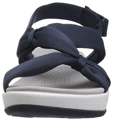 Heathered Arla Primrose Fabric Clarks Blue Sandals Women's qxXwn57HEF