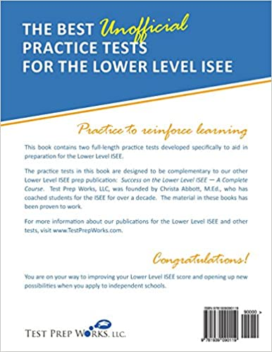The Best Unofficial Practice Tests for the Lower Level ISEE ...