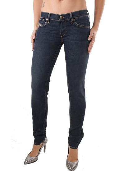 Diesel Grupee-Ankle 0RS22 Damen Jeans Hose Slim Skinny