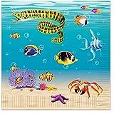 Beistle Under The Sea Luncheon Napkin