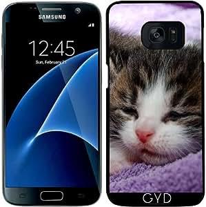 Funda para Samsung Galaxy S7 - Gatito Gato Del Bebé by WonderfulDreamPicture