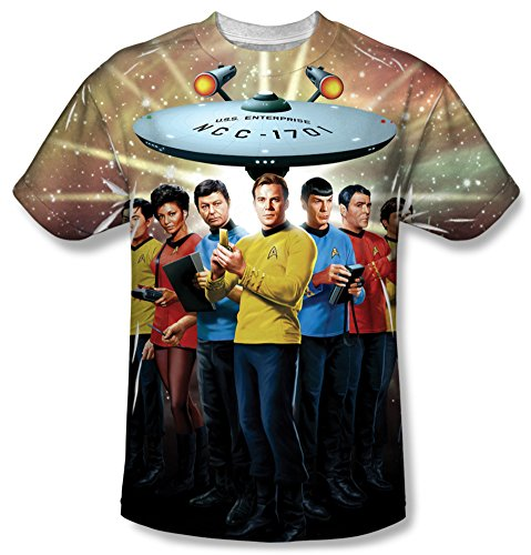 Star Trek - Original Crew T-Shirt Size XXXL