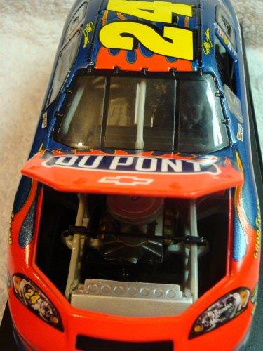 Nascar Jeff Gordon #24 Dupont Detailed Diecast Open Hood Race Replica 1:24 Scale