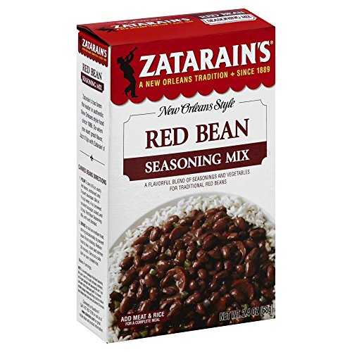 Cajun Small Red Beans - Zatarain's Red Bean Seasoning Mix, 2.4 oz, 3 pk
