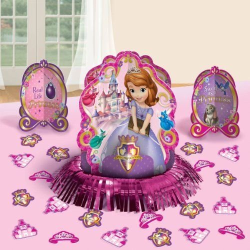 Disney Princess Sofia the First Birthday Party Favor Table Centerpiece Decoration (Sofia The First Centerpieces)