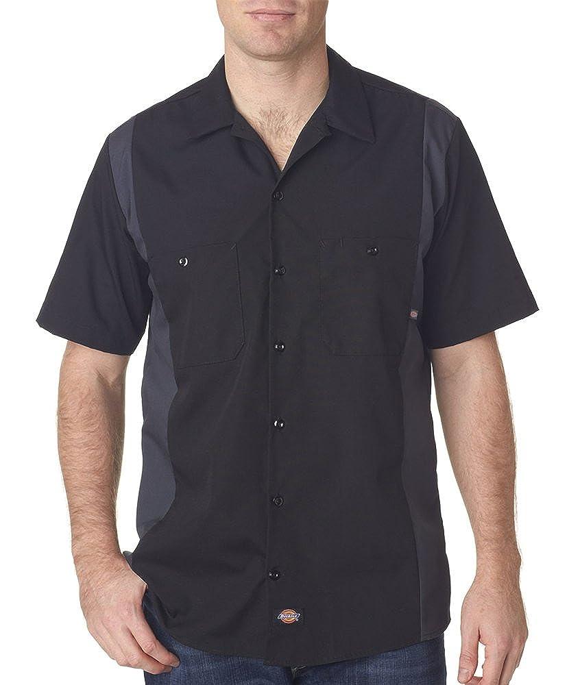 Dickies Ls524 Shirt Sleeve Industrial Color Block Shirt