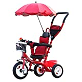 #7: Tricycle Kids Trike Baby Carriage Children's Bicycle 1-6 Years Old Large Baby Girls Car 3-wheeler