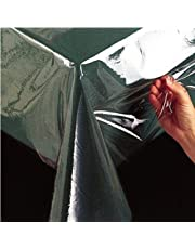 Benson Mills Clear Plastic Tablecloth Protector, 60-inch by 144-inch