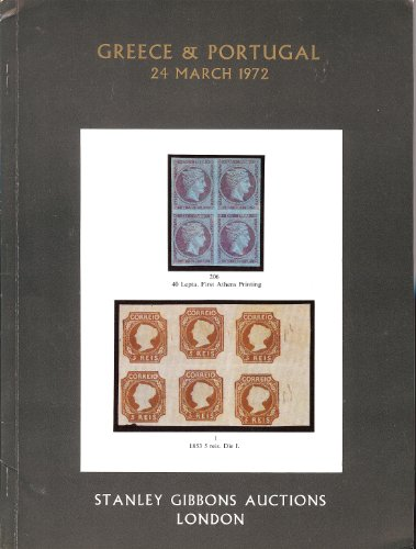Greece and Portugal(Stamp Auction Catalog) (Stanley Gibbons 5183-5184)