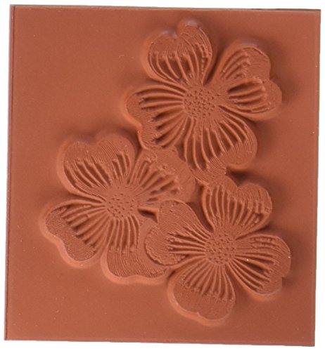 Deep Red Cling Stamp-Dogwood Flowers - Foam Stamps Flowers
