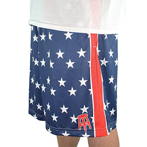 Barstool Sports Usa Lacrosse Shorts  Adult Medium